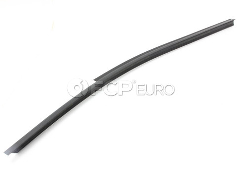 BMW Door Weather Strip Inner Left (Black) - Genuine BMW 51221945593