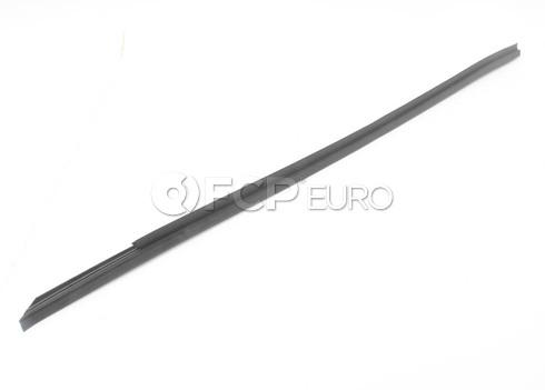 BMW Door Weather Strip Inner Right (Black) - Genuine BMW 51211945592