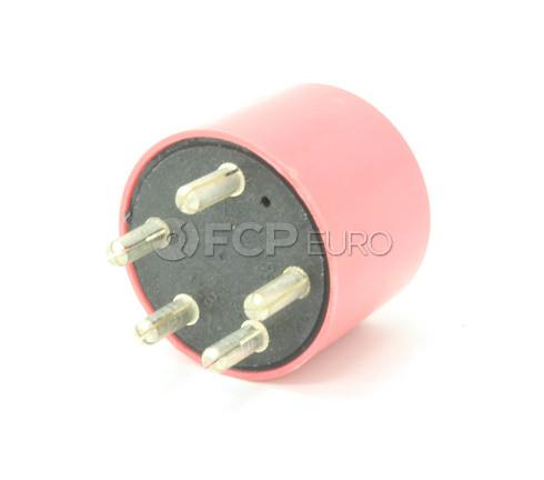 Porsche Fuel Pump Relay Red (911 914 930) - Wehrle OEM 91161510801