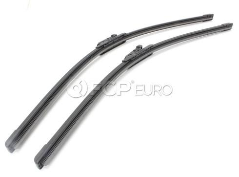 Audi Windshield Wiper Blade Set - Bosch 3397007215