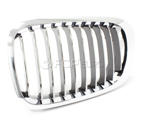BMW Kidney Grille Left (E46) - Genuine BMW 51138208685