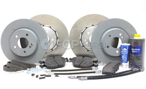 Mercedes Brake Kit Comprehensive (E55 C43 AMG) - OEM W210FULLBK1