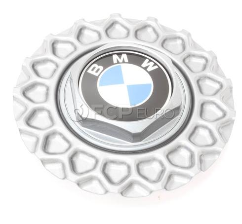 BMW Nogaro Silver Hub Cap  - Genuine BMW 36132226806