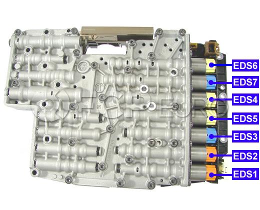 Mechatronic Solenoid Kit (6HP21 6HP28) - ZF 1068298046