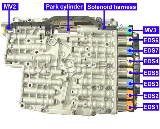 Mechatronic Solenoid Kit 6hp21 6hp28 Zf 1068298047