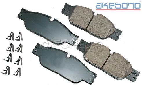 JaguarBrake Pad Set (S-Type XJ8) - Akebono EUR1065