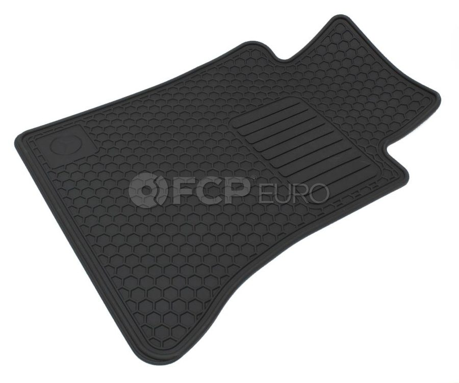 Rubber Floor Mat >> Mercedes All Weather Rubber Floor Mat Set W124 Genuine Mercedes