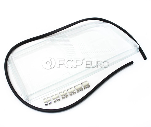 Volvo Headlight Lens Right E-Code (850 Single Bulb Style) - Pro Parts 9133109