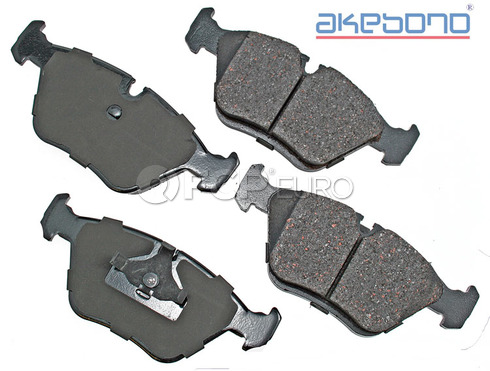 Jaguar AudiBrake Pad Set - Akebono EUR394A