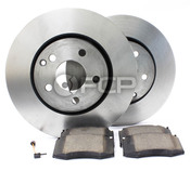 Mercedes Brake Kit - Zimmermann R129ERLYFBK1