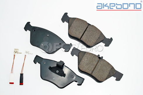 Mercedes Brake Pad Set Front (E-Class) - Akebono 0044200720