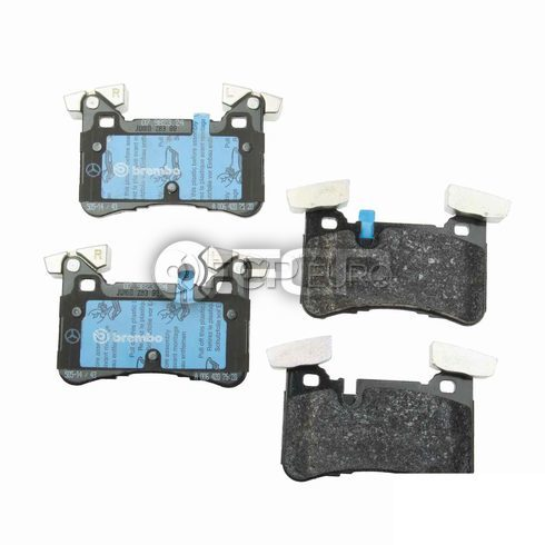 Mercedes Disc Brake Pad Rear (CLS63 AMG CLS63 AMG S C63 AMG) - Genuine Mercedes 0074209320