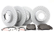Porsche Brake Kit (911) Zimmermann/Pagid- 997BK1
