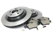 Mercedes Brake Kit Rear (S550 4Matic) - Brembo W2214MG