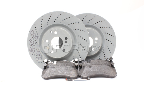 Mercedes Brake Kit Front (C63 AMG) - Zimmermann W204AMGFBK1