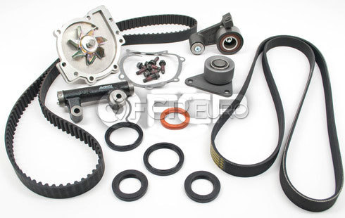 Volvo Timing Belt Kit - Contitech KIT-P80EARLYKIT3P11