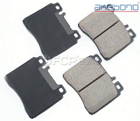 Brake Pad Set - Akebono - EUR689