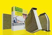 Mercedes Mann Frecious Plus Cabin Air Filter (C300 E350) - MANN 2128300318