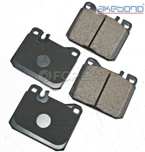 Mercedes Brake Pad Set Front (W123 R107) - Akebono 0054204520