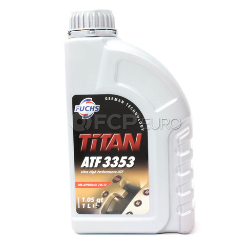 Mercedes Automatic Transmission and Transfer Case Fluid (236.12) - FUCHS TITAN 3353