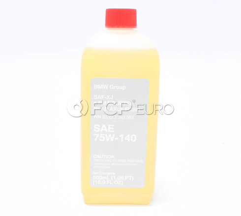 BMW Motorsport Differential Fluid (.5 Liters) - Genuine BMW 83222282583