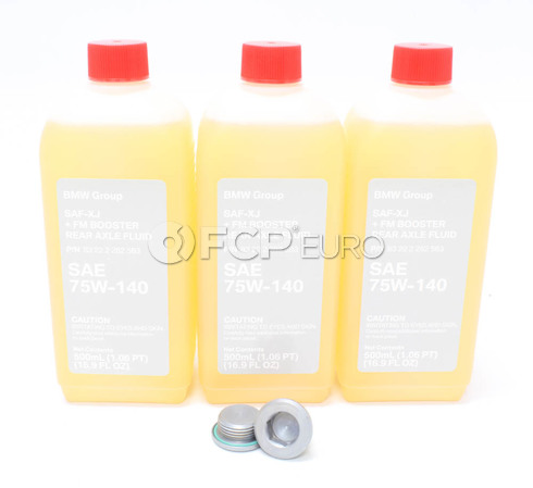 BMW Differential Service Kit (E46 E90 E92 E93) - Genuine BMW 33117525064KT