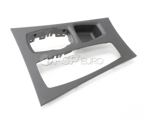 BMW Trim Centre Console Middle (Black) - Genuine BMW 51169164485