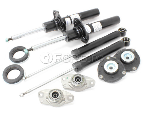 VW Strut and Shock Assembly Kit 10-Piece (GTI Jetta) - Sachs MK6STRSHK2