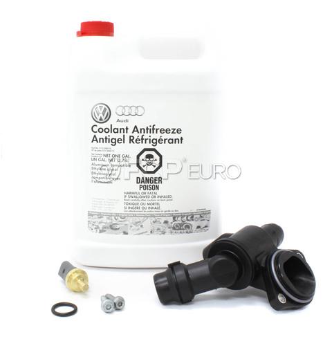 Audi Coolant Thermostat Kit - Behr 06D121111G