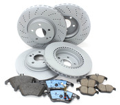 Mercedes Brake Kit Comprehensive - Zimmerman W204207BK