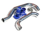 Volvo Reverse Intercooler Pipe Kit Blue (850 C70 S70 V70) - Snabb RIPK9398