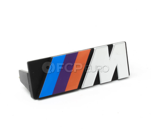BMW Motorsport Grill Emblem - Genuine BMW 72601933569