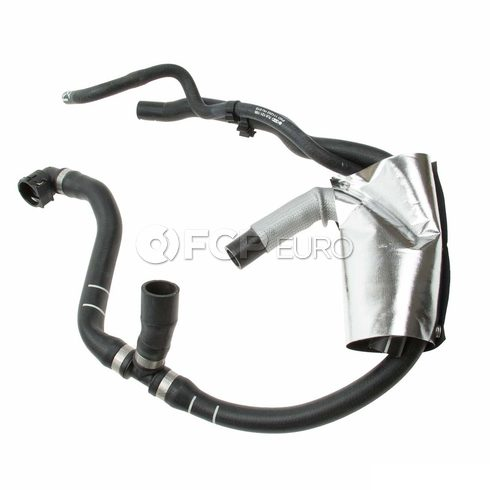 VW Engine Coolant Recovery Tank Hose Reservoir To Thermostat (Touareg) - Genuine VW Audi 7L6121156