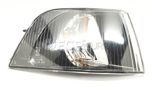 Volvo Turn Signal Assembly Right (S40 V40) TYC Black Bezel 30896585