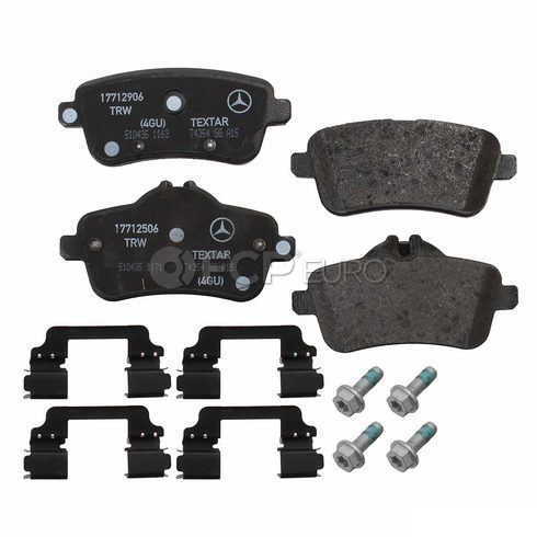 Mercedes Disc Brake Pad Rear (ML63 AMG GL63 AMG) - Genuine Mercedes 0074208620