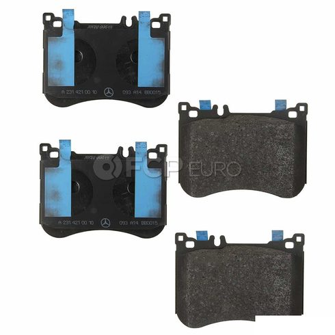 Mercedes Disc Brake Pad Front (SL550) - Genuine Mercedes 0084203320