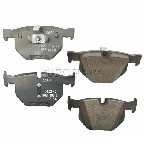 BMW Brake Pad Set (F15 F16) - Genuine BMW 34216868497