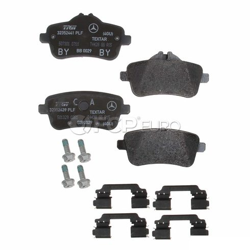 Mercedes Disc Brake Pad Rear (SLK55 AMG) - Genuine Mercedes 0064206820