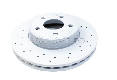 Mercedes Brake Disc Front (C300 C250) - Zimmermann 2044213612