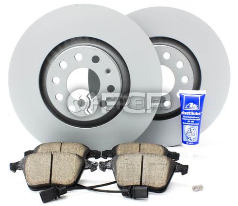 Audi VW Brake Kit - Zimmerman/Akebono 4F0615301EKT