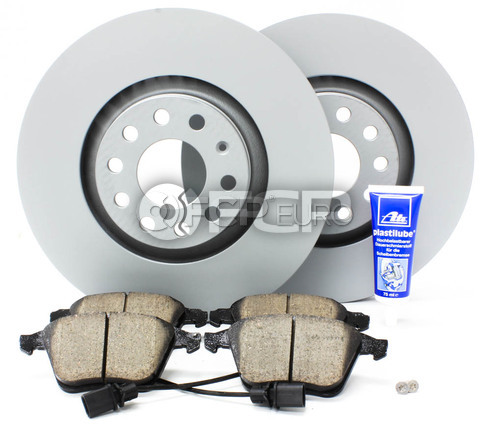 Audi Brake Kit 321MM - Zimmerman/Akebono 4F0615301EKT
