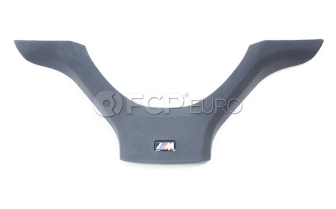BMW Cover M Steering Wheel Black - Genuine BMW 32307839474