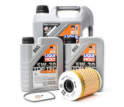 BMW Oil Change Kit - Liqui Moly/Mahle 11421730389KT1