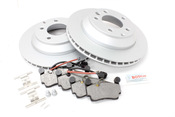 Audi VW Brake Kit - Meyle/Bosch TOUABK2