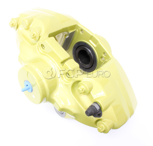 BMW Brake Caliper Housing Yellow Left (M Performance) - Genuine BMW 34206855481