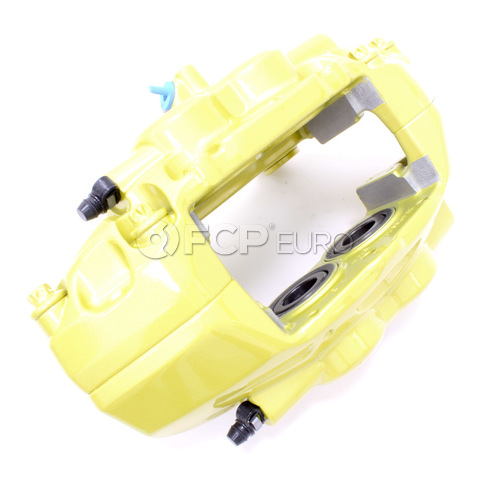BMW Performance Brake Caliper Right (Yellow) - Genuine BMW 34106855476