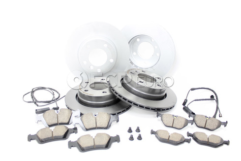 BMW Brake Kit Front and Rear (E46) - Brembo/Akebono 34116855153KTFR1