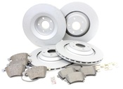 Audi VW Brake Kit - Zimmermann/Textar A6BRAKEKIT1