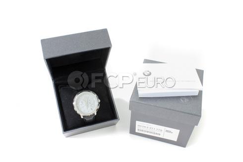 BMW Bmw Wristwatch Men Chrono (SilverBlack) - Genuine BMW 80262311778