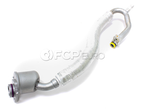 Mercedes A/C Refrigerant Suction Hose (C350 CLK350 C280) - Genuine Mercedes 2722300756